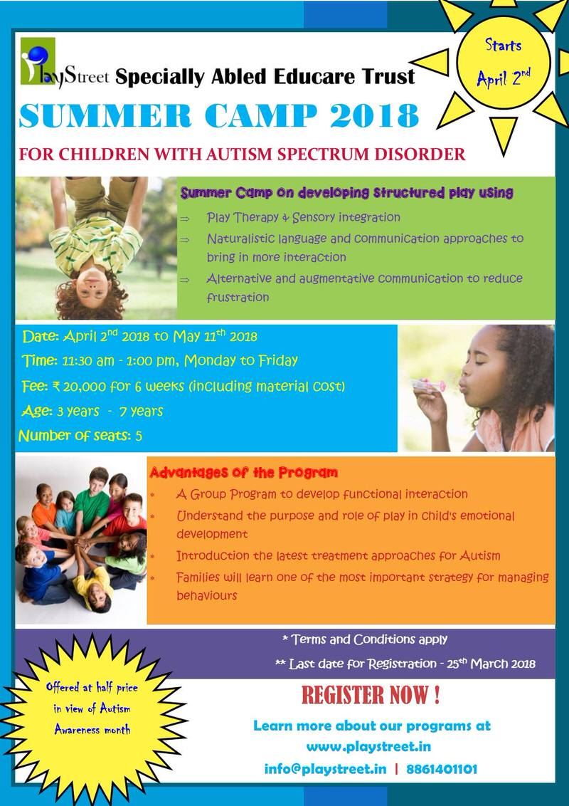 Summer Camp for Children with Autism Spectrum Disorder Cover Image