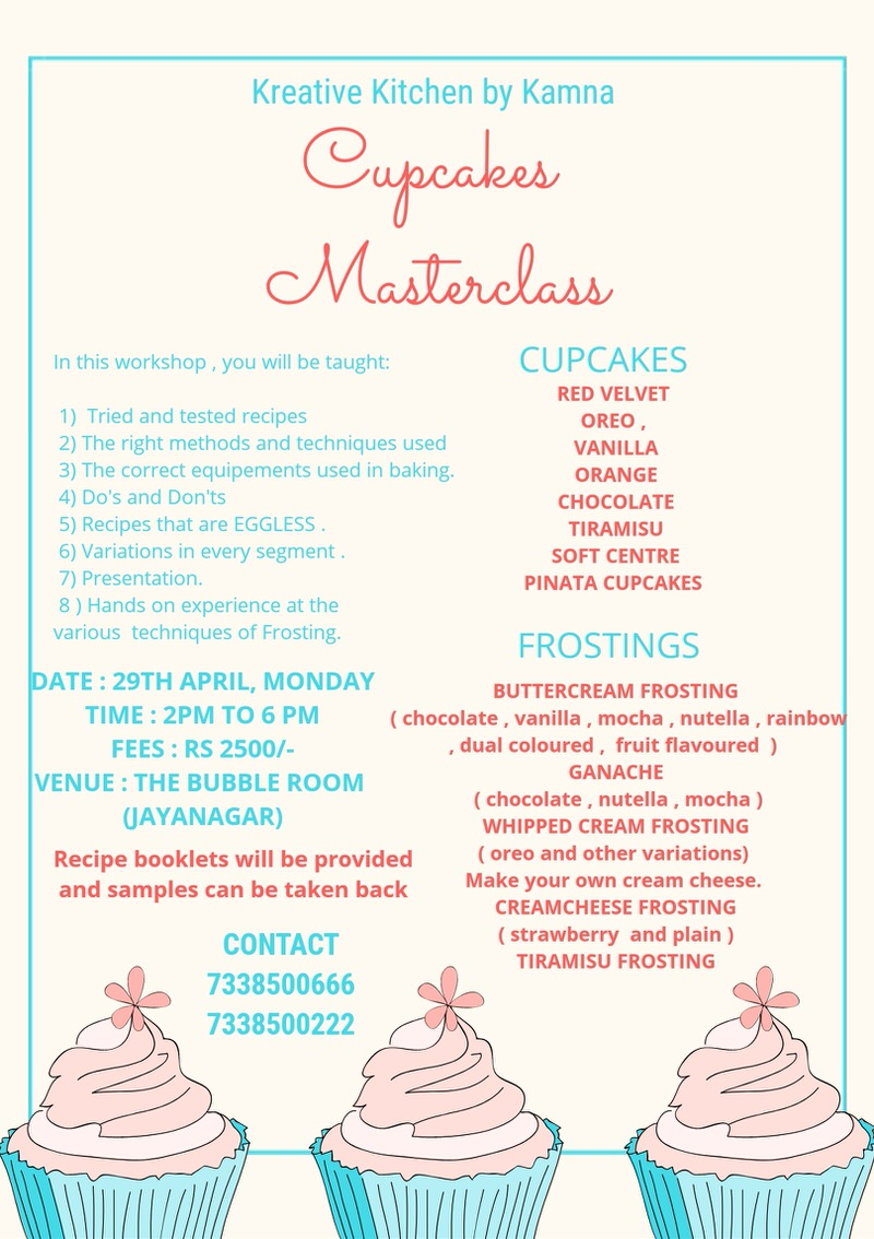 Cupcakes Masterclass 2019 Cover Image