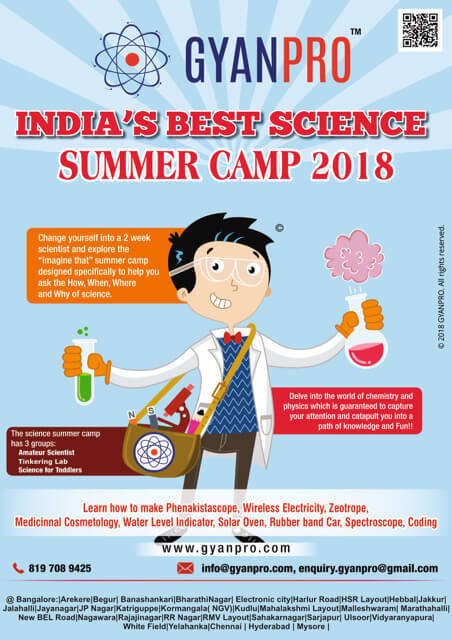 GyanPro Science Summer Camp 2018 Cover Image