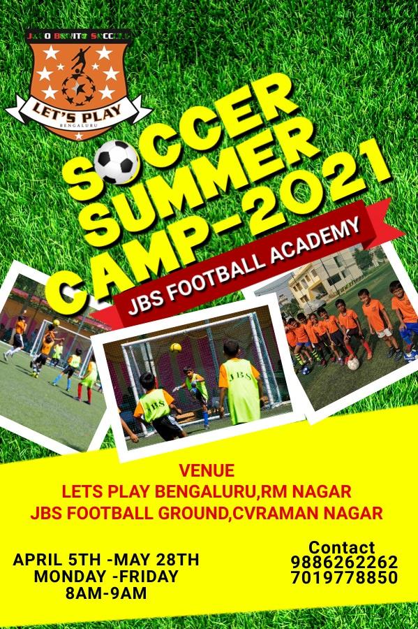 JBS Football Summer Camp 2021 Cover Image