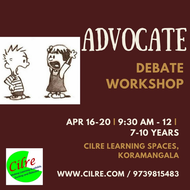 Advocate – Debate Workshop Cover Image