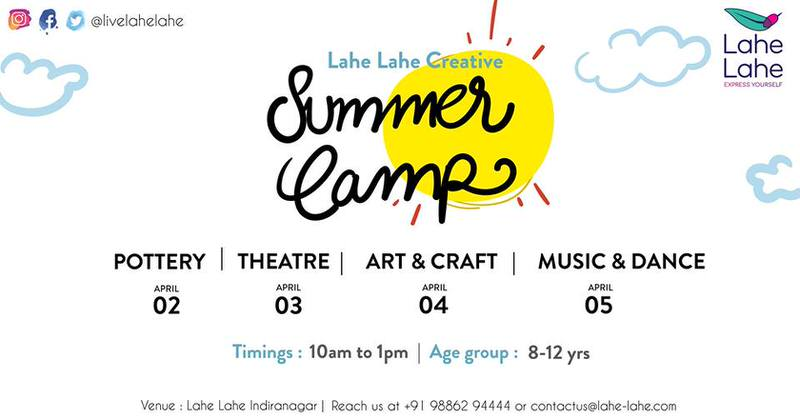 Lahe Lahe Creative Summer Camp (8 – 12 yrs) Cover Image