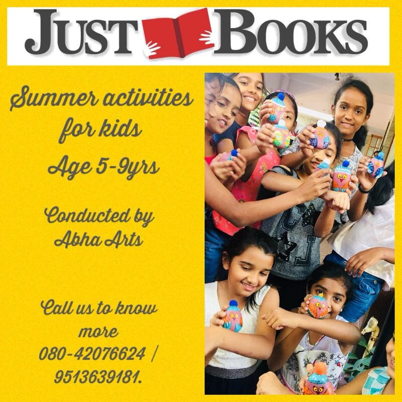 Summer activities for Kids by Just Books & Abha Arts Cover Image