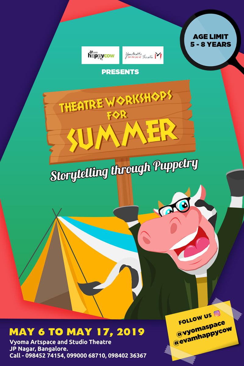 Children's Theatre Summer Classes 2019 Cover Image