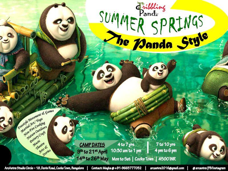 Dribbling Panda Summer Springs is back – 'THE PANDA STYLE'! Cover Image