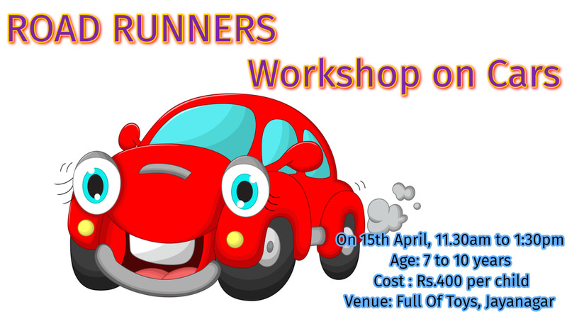 Road Runners Workshop on Cars Cover Image