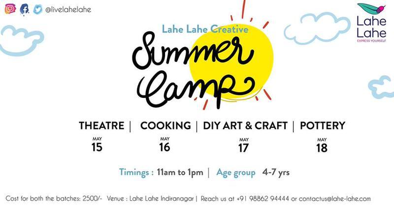 Lahe Lahe Creative Summer Camp Cover Image