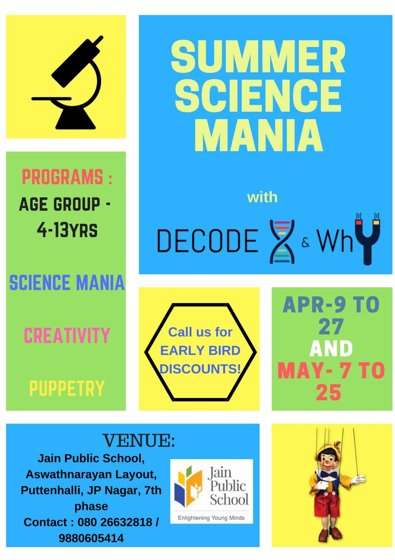 Summer Science Mania Cover Image