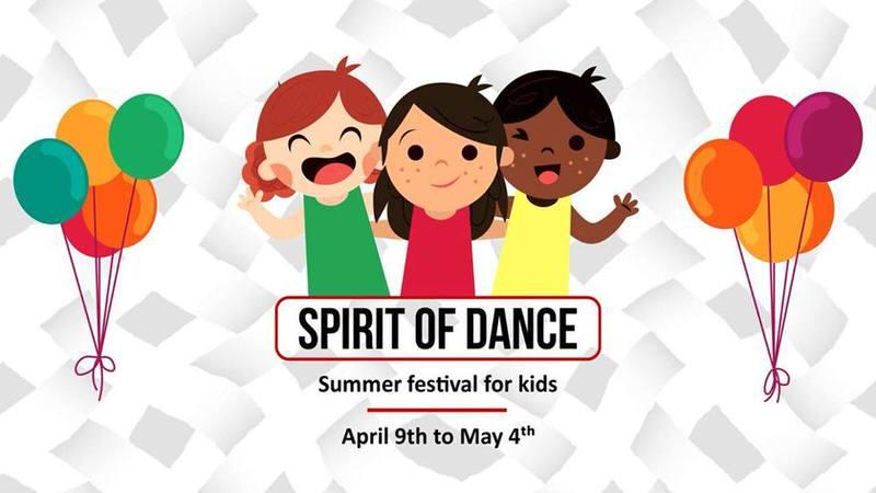 Spirit of Dance Summer Camp 2018 Cover Image