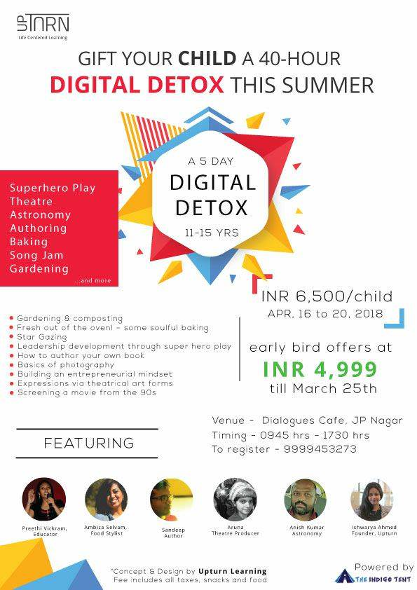 Digital Detox for children | Think beyond gadgets Cover Image
