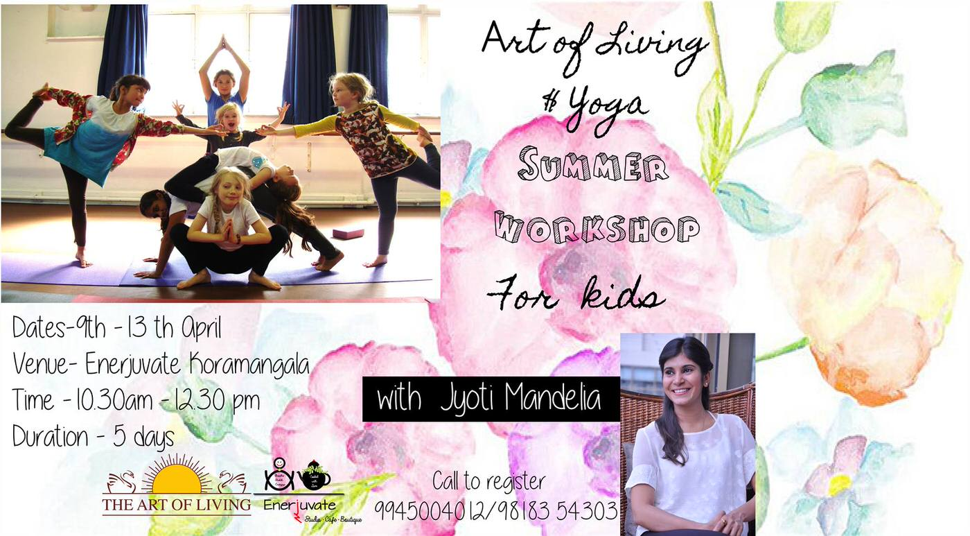 Art of Living & Yoga for Kids Cover Image