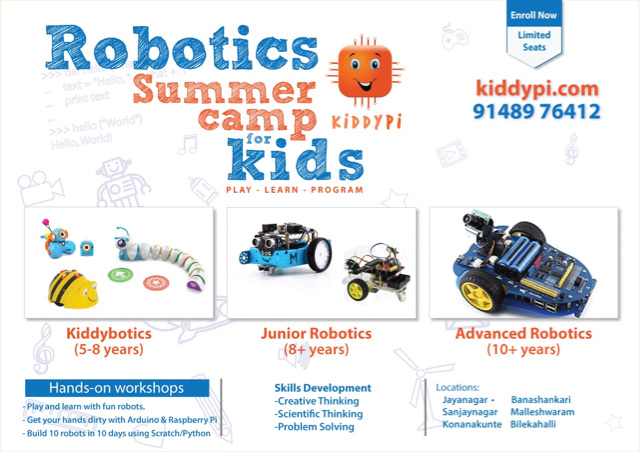 KiddyPi Robotics Summer Camp Cover Image