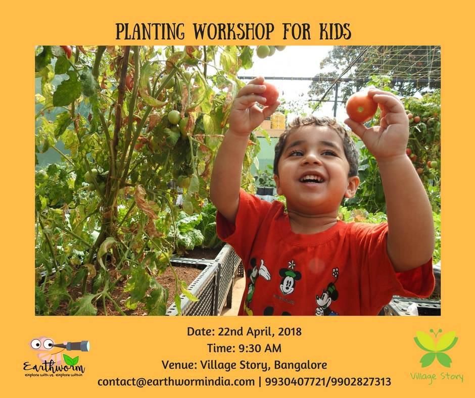 Planting Workshop for Kids Cover Image