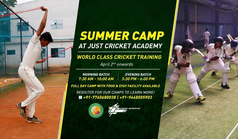 Just Cricket Academy Summer Camp Cover Image