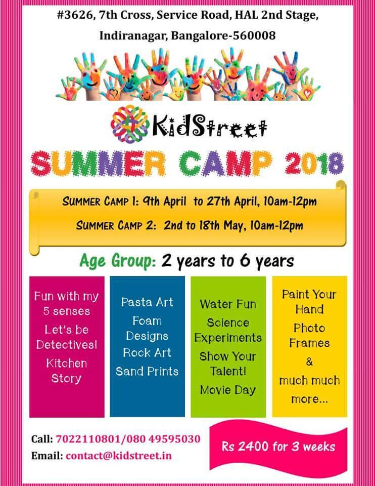 Kidstreet Summer Camp Cover Image