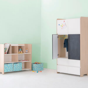 Furlenco Kids Wardrobe