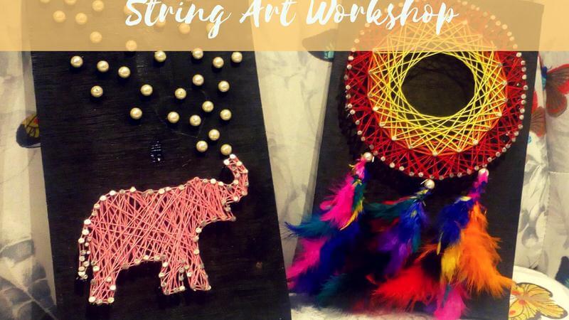 String Art Workshop Cover Image