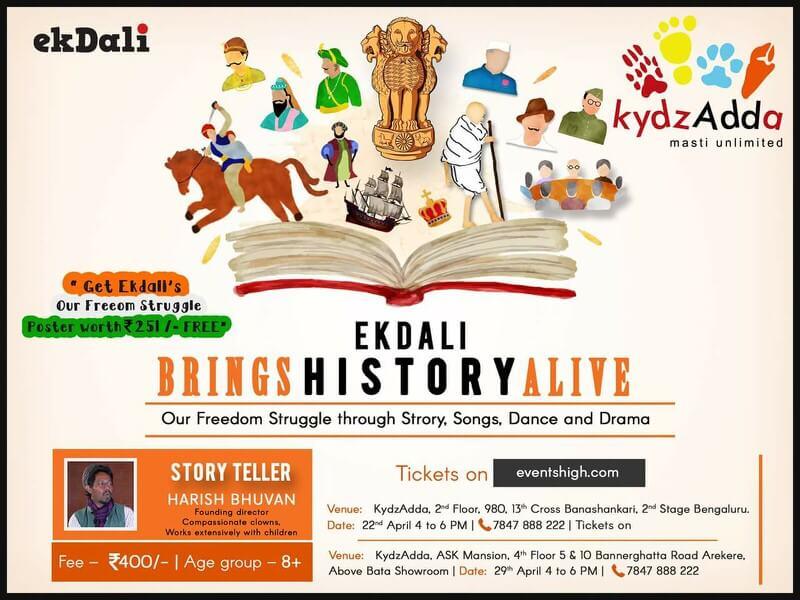 Ekdali Brings History Alive Cover Image