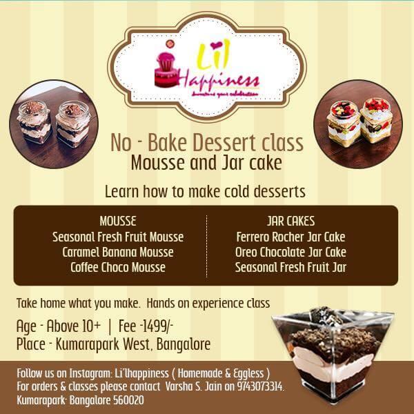 No-Bake Dessert Class Cover Image