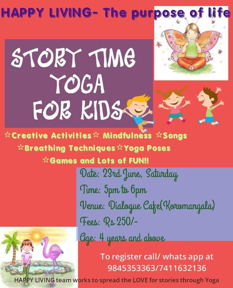 Story Time Yoga For Kids Cover Image