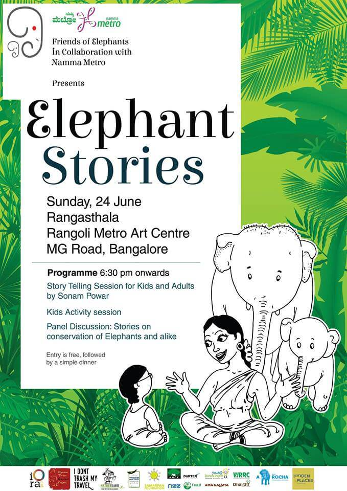 Elephant Stories: Storytelling Session Cover Image