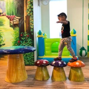 Playarea at Little Monsters Kids Spa and Salon