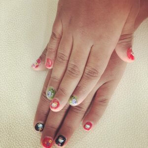 Nailart at Little Monsters Kids Spa and Salon
