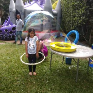 Kids in the Big Bubble