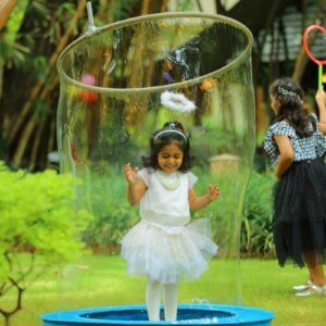 Giant Bubble Fun at Birthday Parties