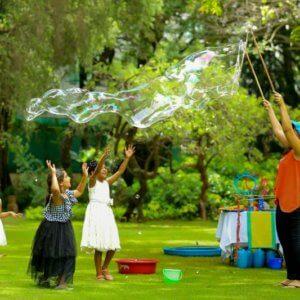 Bubble Show fun at Birthdays