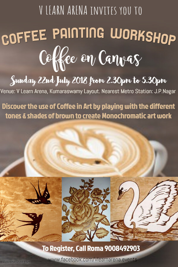 Coffee on Canvas – A Coffee Painting Workshop Cover Image