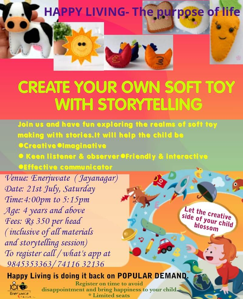 Create your own Soft Toy with Storytelling Cover Image