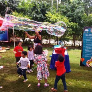 Bubble Show at carnivals