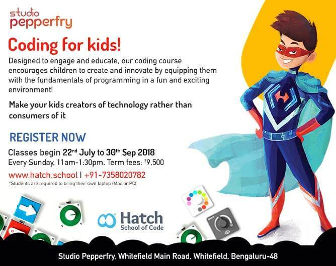 Coding Workshop for Kids Cover Image