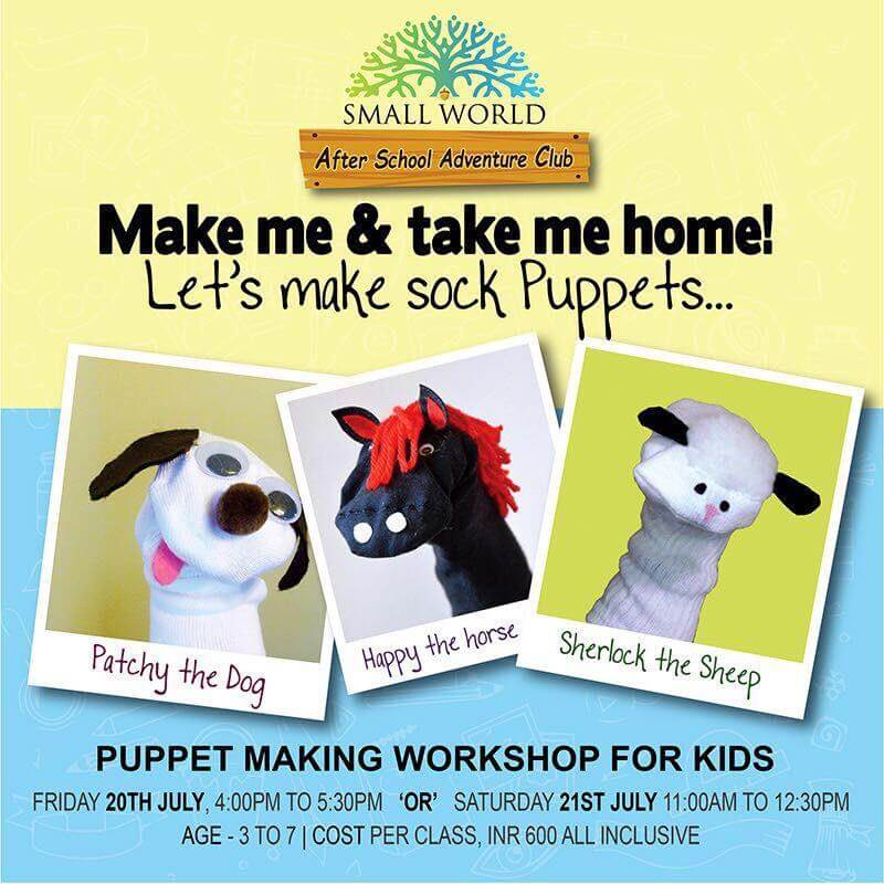 Sock Puppet Making Workshop Cover Image