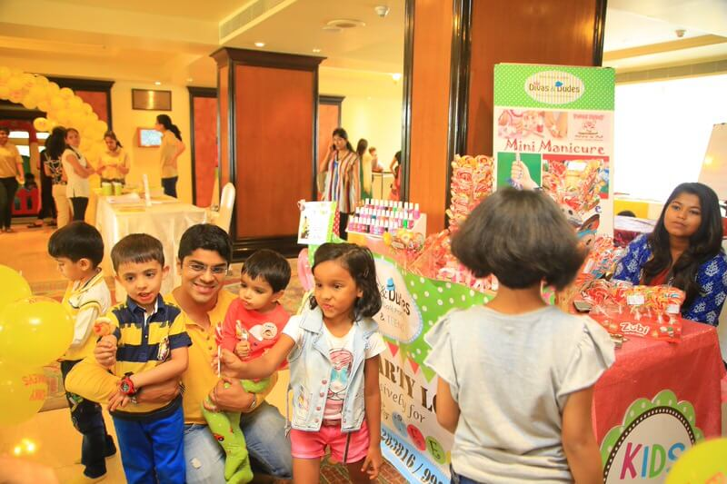 Family fun at Candy Bazar