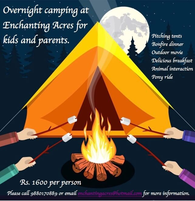 Overnight Camping for Families Cover Image