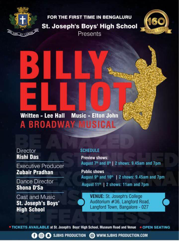 Billy Elliot: A Broadway Musical Cover Image