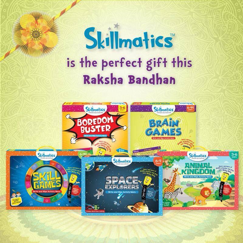 RakshaBandhan-Skillmatics