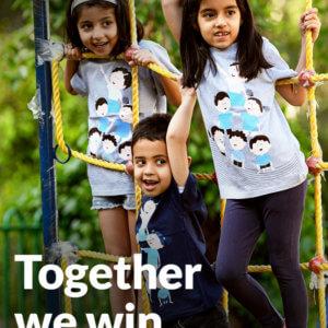 EqualiTee T-shirts for kids