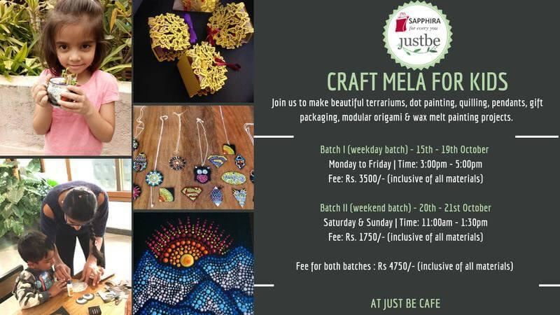 Craft Mela for Kids: Dussehra Camp Cover Image