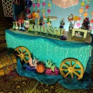 Cake table designed by Party Dolls