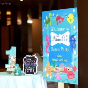 Welcome Board by Party Dolls