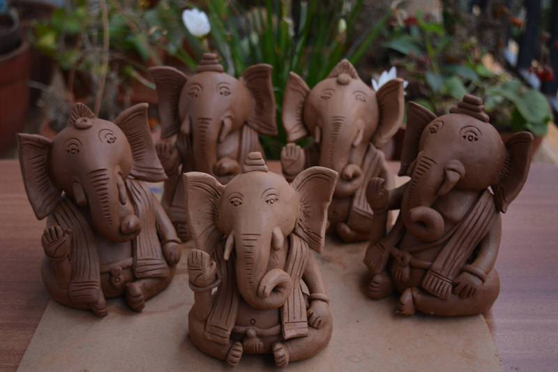 Eco-Friendly Ganesha Making Workshop, Whitefield, Bangalore