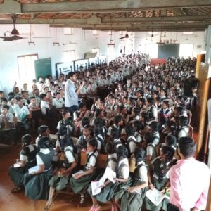 Quiz Contest in School by Qshala
