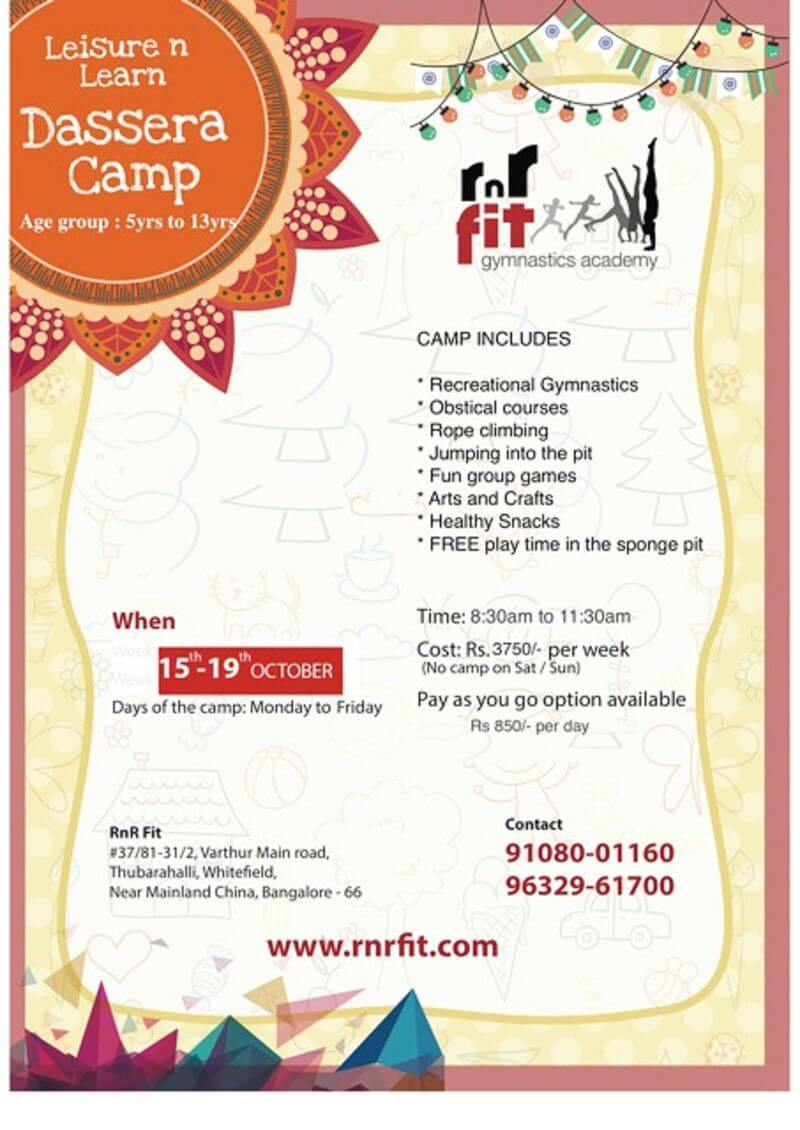 Leisure n Learn Dussehra Camp Cover Image