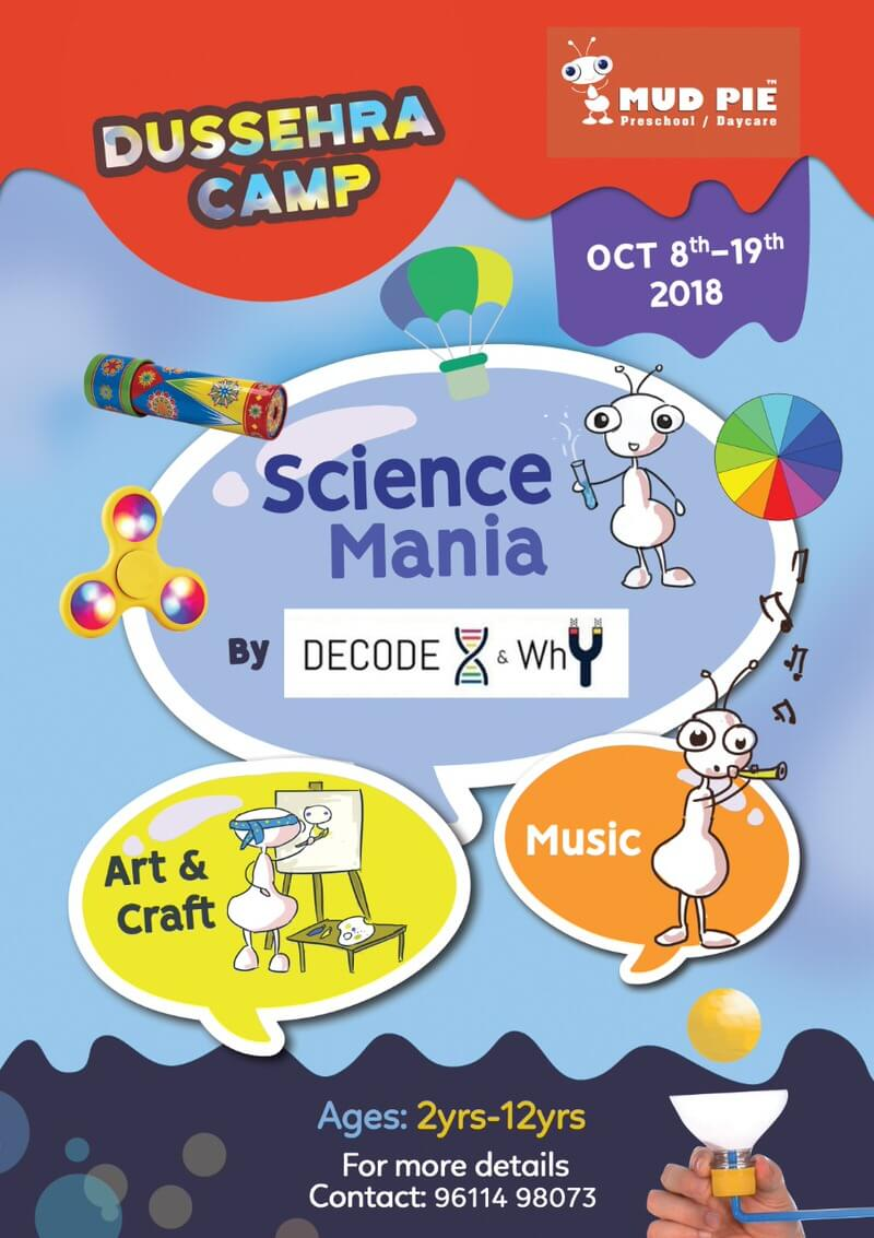 Science Mania Dussehra Camp Cover Image