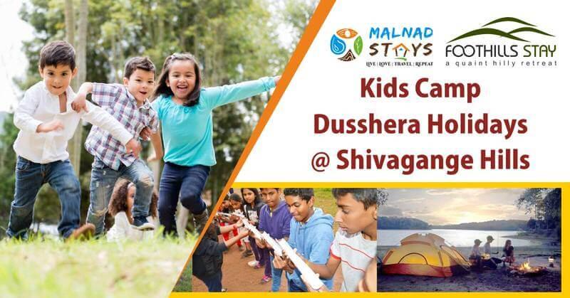 Kids Dussehra Camp @ Shivagange Hills Cover Image