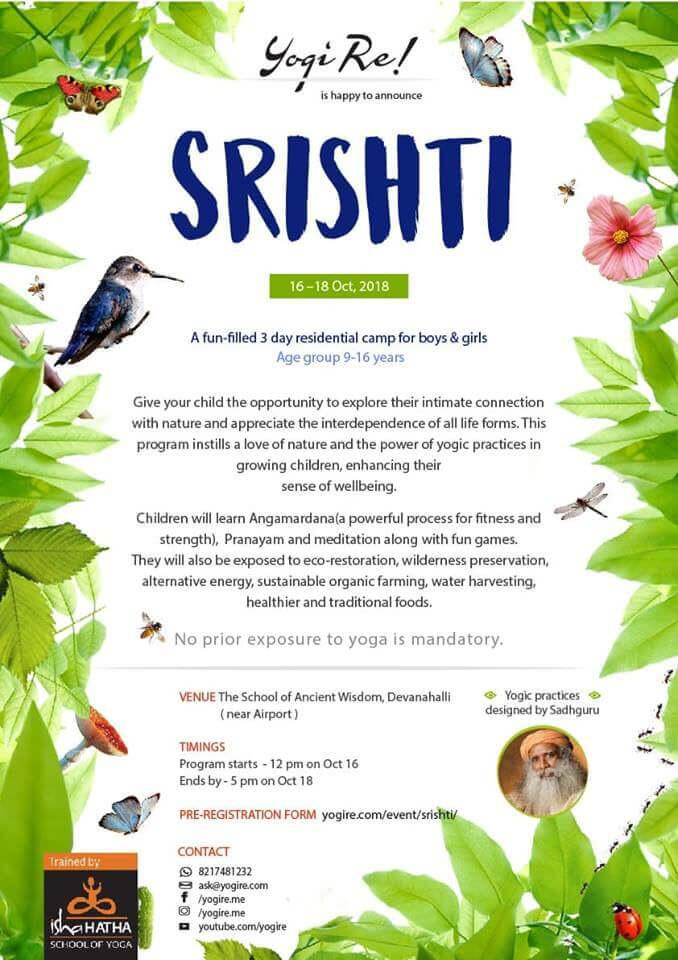 Srishti Dussehra Camp – Residential Cover Image