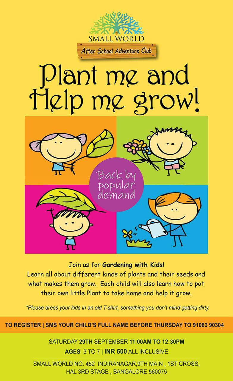 Plant Me & Help Me Grow: Gardening with Kids Cover Image